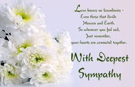 sympathy card exles of religious sympathy messages to write in a card for