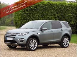 land rover discovery sport black used land rover discovery sport suv 2 0 td4 hse luxury suv 4x4 5dr