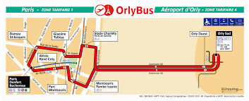 Cdg Airport Map Public Transport And Bus Shuttle Services For Orly Airport In Paris