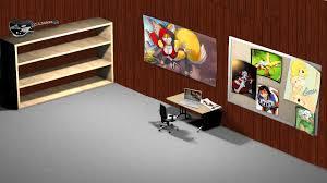 Computer Desk Wallpaper Office Desktop Wallpaper