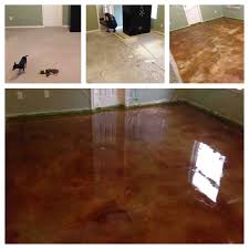 Photos Of Stained Concrete Floors by Concrete Acid Stain Photo Gallery Direct Colors Inc
