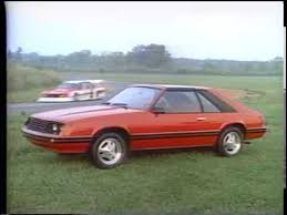 1982 ford mustang hatchback 1982 ford mustang tv ad commercial 3 of 4