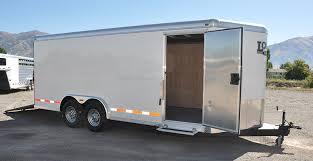 enclosed trailer exterior lights contractor logan coach