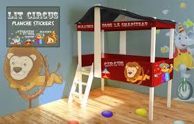 chambre cirque lit cabane cirque vente lit cabane pour enfants decore ta chambre