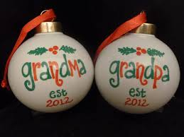 grandparent christmas ornaments new or christmas ornaments est year