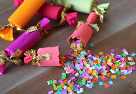 new years party poppers diy confetti party poppers