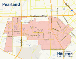 Houston Maps Houston Map Pearland At Maps