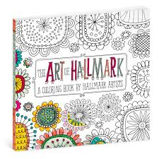 art hallmark coloring book adults coloring books