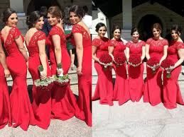 red bridesmaid dresses womenitems com
