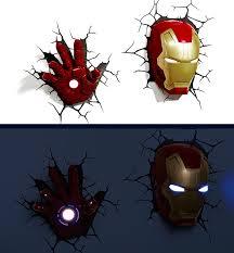 Avengers Wall Lights Avengers Hulk Head 3d Wall Lamp Night Light Hulk Head Everbuying