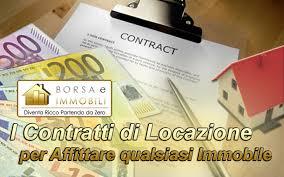 contratto affitto box auto i contratti di locazione per affittare qualsiasi immobile