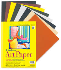 strathmore 300 series colored art paper pads drawing and