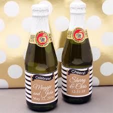 wholesale sparkling cider mod gold black and white striped mini sparkling cider