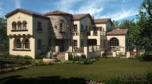 tuscan house sanctuary visualization tuscan house exterior illustration
