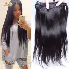 hair clip ins 7a clip in human hair extensions 7pcs 120g