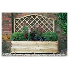 buy venice planter with trellis from our planters range tesco