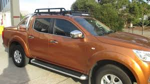 nissan navara customised nissan navara np300 roof racks