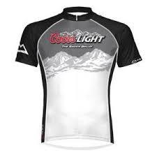coors light t shirt amazon primal wear mens coors light summit short sleeve cycling jersey