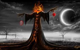 broom witch pumpkin lantern night halloween design art