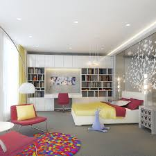 bedroom modern teen bedroom lighting design idea in light