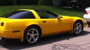 1991 corvette colors 1991 corvette comp yellow paint