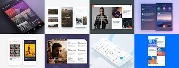 56 examples of content stream layout u2013 muzli design inspiration