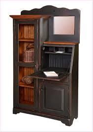 small secretary desk with shelves racking and shelving ideas