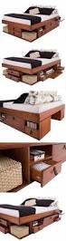 Diy Platform Bed Drawers by 20 Easy Diy Bed Frame Projects You Can Build Yourself Diy