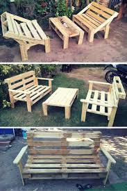 Diy Wood Pallet Patio Furniture - 434 best pallet images on pinterest pallet ideas pallet