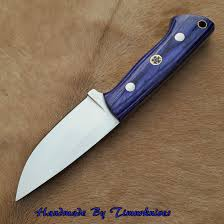custom made kitchen knives 7 2 custom made 1095 steel skinning edc knife s 001