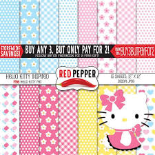24 scrapbooking images kitty digital