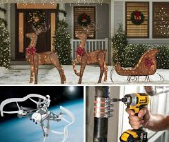 Outdoor Reindeer Decorations For Christmas by