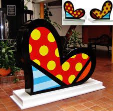 britto garden romero britto u2013 range of arts