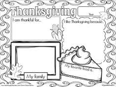 thanksgiving day lesson plans activities