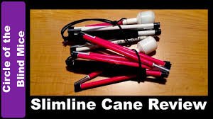 Mobility Canes For The Blind Review Ambutech Slimline Graphite Mobility Canes Low Vision