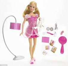 1965 slumber party barbie scales 110lbs