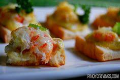 canape orleans cheesy shrimp canapes recipe orleans food