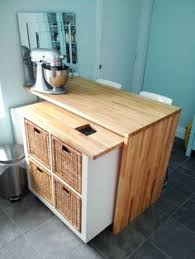 Ikea Islands Kitchen Diy Kitchen Island Ikea Hack All Materials Can Be Purchased From