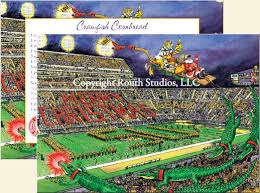 greeting cards cajun greeting cards lsu tiger stadium