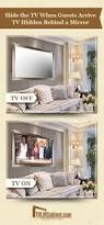 Mirror Decor In Living Room by Get 20 Mirror Tv Ideas On Pinterest Without Signing Up Hide Tv