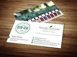 Totally Free Business Cards Free Shipping Get 20 Young Living Business Cards Ideas On Pinterest Without