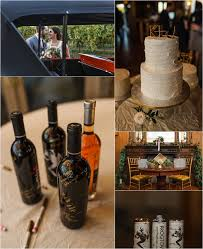 wine bottle guestbook kristin justin frogtown cellars wedding