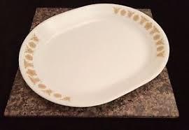 butterfly serving platter corelle corning ware butterfly gold 12 oval serving platter plate