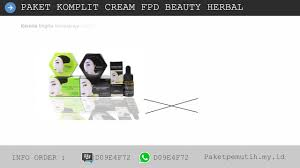 Serum Fpd distributor fpd herbal whitening magic glossy vege