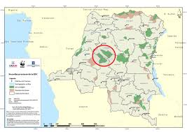 Congo River Map New Hope For Salonga National Park In Drc Wwf