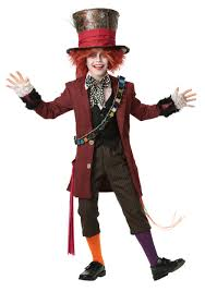 Halloween Costumes Kids Child Authentic Mad Hatter Costume
