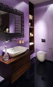 good purple and black bathroom 96 for best interior design with