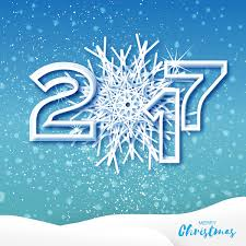 2017 christmas greeting cards with paper cut vector vector card
