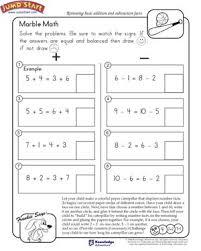 marble math free math worksheet for kids jumpstart