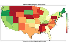 Duck Migration Map About That Gallup Lgbt Survey Duck Of Minerva